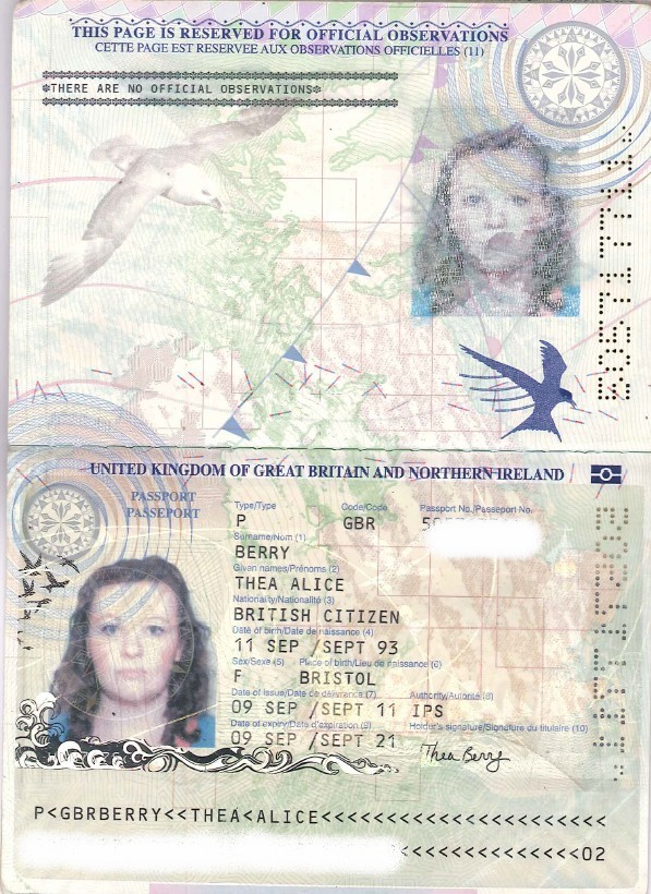 My Passport! – Let's learn English together